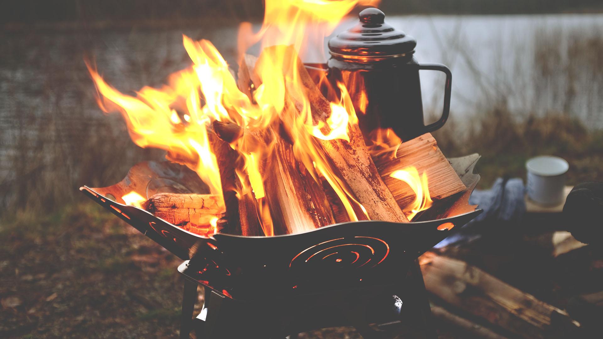 Lagerfeuer Feuerschale Relleum